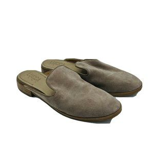 Lucca Lane Tammy Tan Leather Upper Slip On Shoes 8